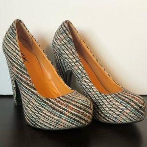 🐈 Women's Miss Me Wedge Heels